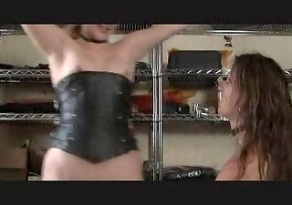 corset spanking
