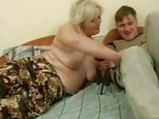 drunk milf seduced by young man