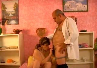 grandpa banging breasty angel by troc