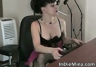 awesome hot black haired slut with sexy part10
