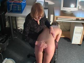 dirty golden-haired slut fucks her cunt during