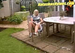 big beautiful woman non-professional housewife in