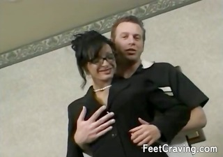 lustful milf with giant bangers gives an awesome