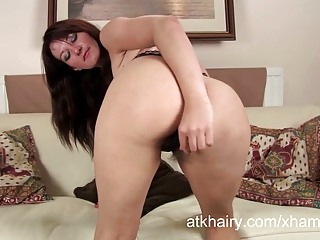 hairy mother i vanessa copulates a toy