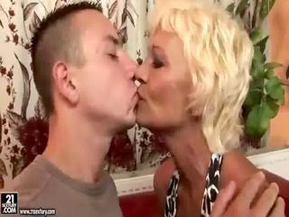 blonde older kiss juvenile guy