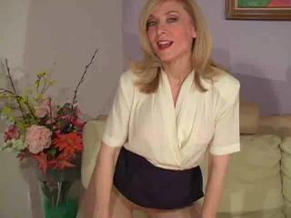 aged nina hartley in hose as at no time seen part