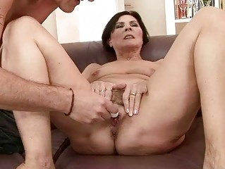 excited granny getting drilled pretty hard