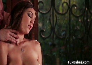 marvelous cute face hot body great tits