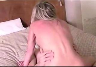 blonde mamma fuck hard his son
