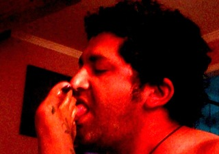 licking feet my wife
