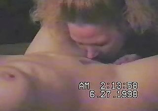 home made. wife licking a gal