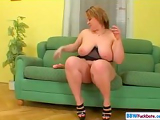 hot chubby blond cougar