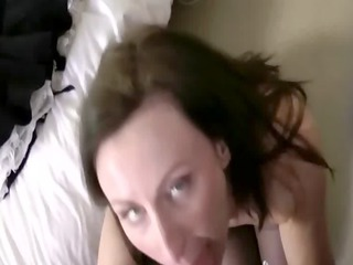 mature blowjob floozy in nylons