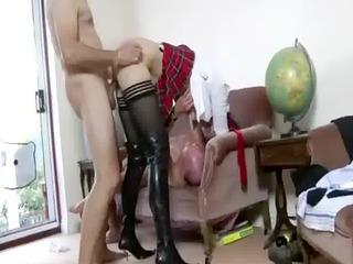 slutty older amateur gets cumshots