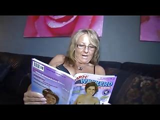 german aged woman