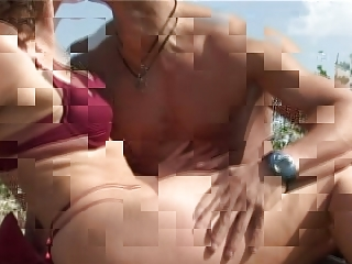 older with tiny tits big teats receives fuck on