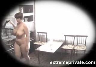 spying home nudism my 15 years breasty mom
