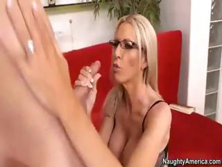 blonde d like to fuck sends her hubby away so she