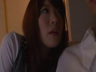 wife`s hot oriental elder sister stays for a