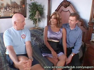 wife got teary eyed in threesome