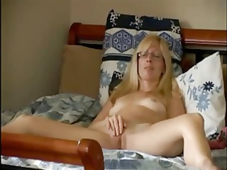 mom showing off