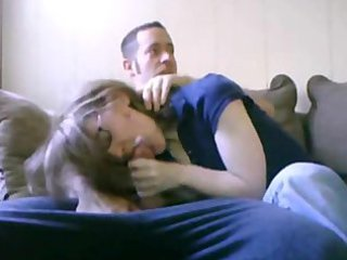 blowjob with mamma in the room