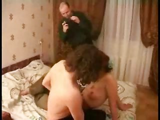 redhead mother i three-some fucked by 3 guys