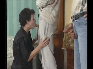 filthy older wench seduces young male that is