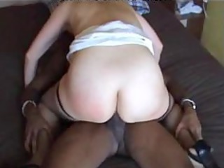 wife thug fuck dark ebon cumshots swarthy swallow