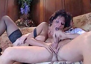 anal mature floozy with fine big wazoo