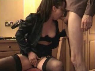 lustful wife sucks and gets a facial
