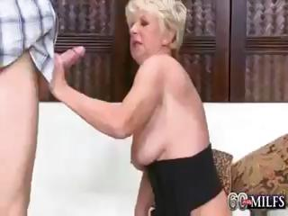 deanna is a sexually excited blond granny that