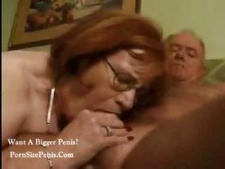 fat granny still has excitement