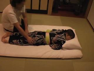 the juvenile wifes massage in the japanese