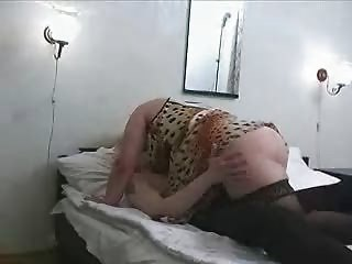 mature fat mom in nylons with sons friend