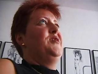 lewd redhead older german