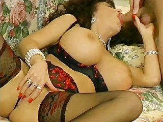huge-tit mother i screwed in her lingerie