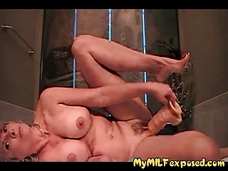 busty amateur mother i playing with huge rubber