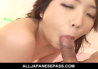 hatsumi kudo speared in both holes for a sexual
