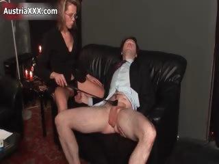 dirty aged whore goes insane spanking