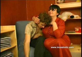 russian mom seduces her son