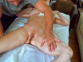 sexy mama massaged then pounded