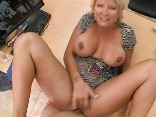 slutty amateur blonde mother i swallows huge hard