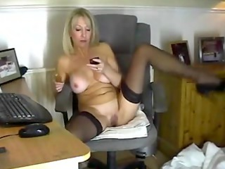 blonde mother id like to fuck in stockings toying