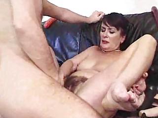Gangbang creampie whore mother