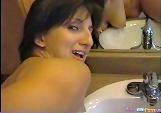ribald talking colette anal creampie
