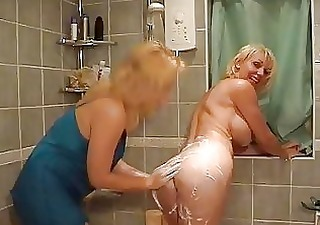 sexy blonde mommas with great scones having fun