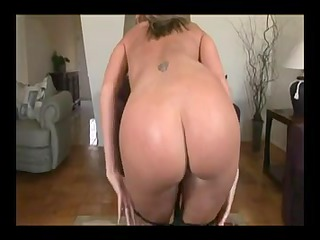 blond aged cook jerking