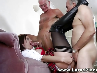 mature nylons vagina fucked and fingered