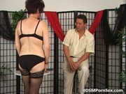 older couple playing bdsm games